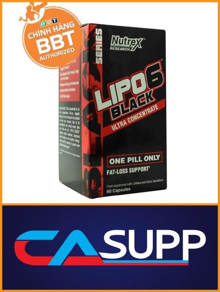 Nutrex Lipo 6 Black fat burner Đốt Mỡ Giảm Cân cao cấp