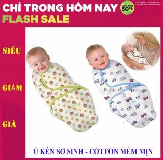 Túi quấn bé , Túi ủ em bé - Chăn quấn bé sơ sinh, ủ kén sơ sinh - Chất liệu cotton mềm mịn, Sale 50% hôm nay thumbnail