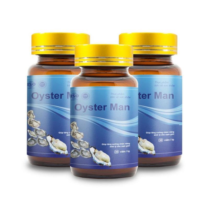 [Combo 3] Hàu Oyster Man - Giúp Tăng Sinh Lý Nam Giới, Hỗ Trợ Chữa Yếu Sinh Lý, Xuất Tinh Sớm, Cải Thiện Chất Lượng Tinh Trùng