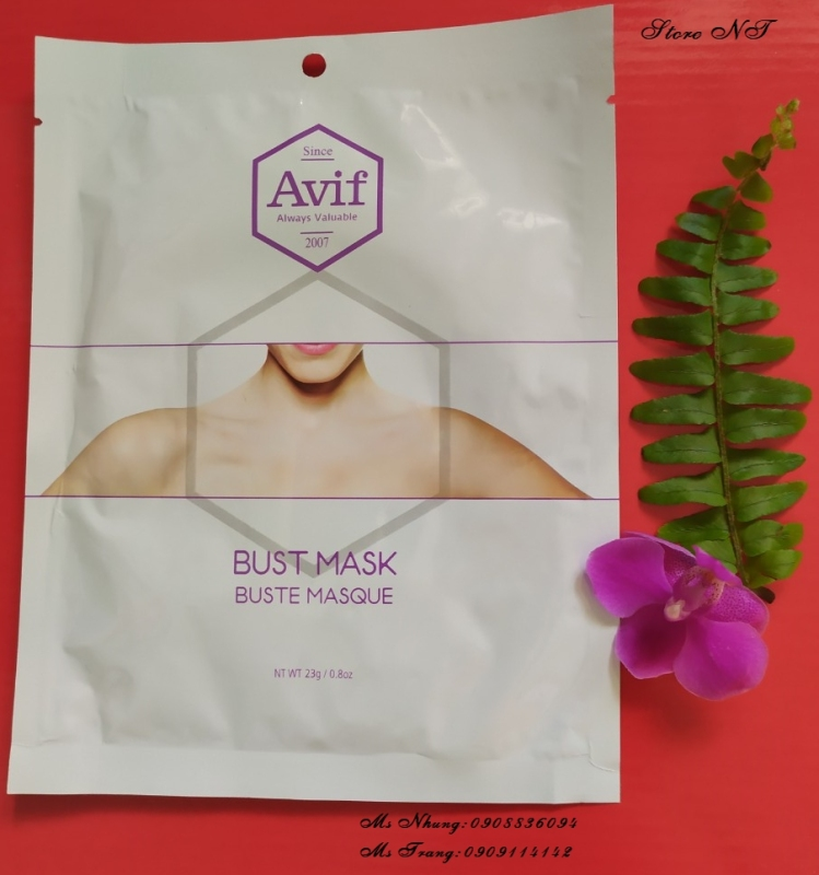 005.MẶT NẠ AVIF BIO CELL BUST MASK