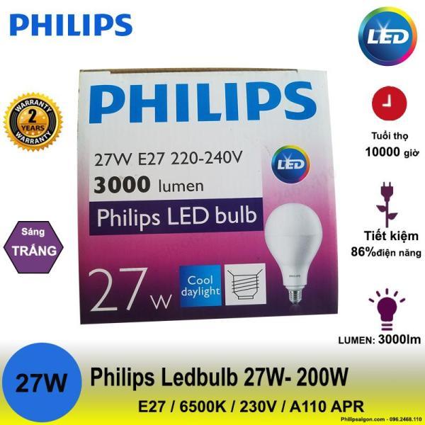 Bóng đèn Philips 14.5W / 24W / 27W công suất cao siêu sáng - bảo hành 24 tháng