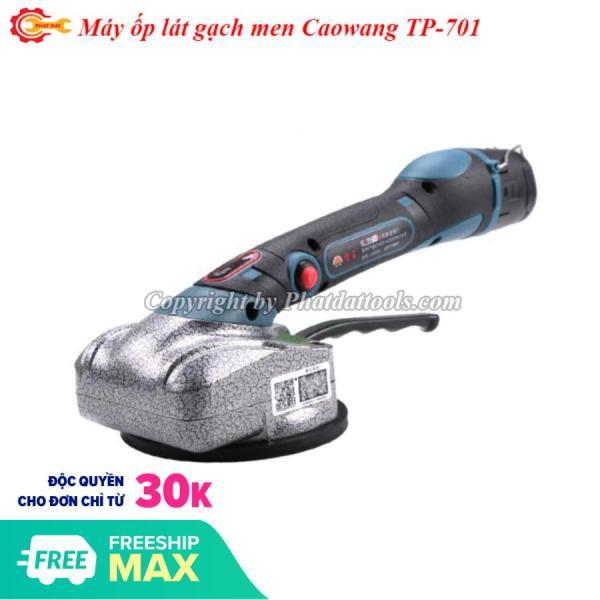 Máy ốp lát gạch Caowang TP701-2 chức năng đầm rung+hít gạch-Pin 2200mAh