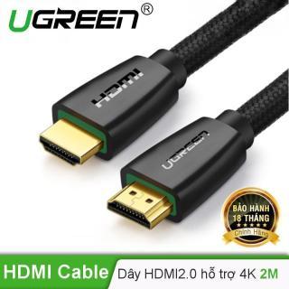 [HCM]Cáp HDMI 2.0 hỗ trợ 3D 4K dài 2m UGREEN HD118 40410 thumbnail