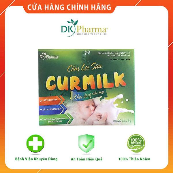 Cốm lợi sữa thảo dược Curmilk, kích sữa, chống tắc sữa, sữa vừa nhiều vừa chất - Hộp 20 gói