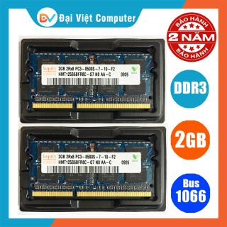 Ram Laptop DDR3 2GB bus 1066 PC3 8500s ( nhiều hãng)Hynix Samsung kingston crucial - LTR3 2GB [ Shop Đại Việt Computer - Máy tính Đại Việt ] thumbnail