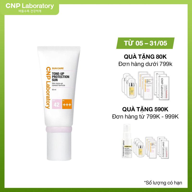 Kem chống nắng nâng tông da CNP Laboratory Tone-Up Protection Sun SPF42/PA+++ 50ml nhập khẩu
