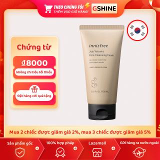 Sữa rửa mặt Innisfree Volcanic Pore Cleansing Foam 150ML thumbnail