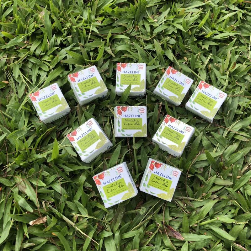 Set 10 hộp kem nén hazeline match lựu đỏ 3g nhập khẩu