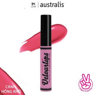 Son kem lì lâu trôi mịn môi Australis Velourlips Matte Lip Cream( dạng kem) - 6ml - Hàng Úc chính hãng thumbnail