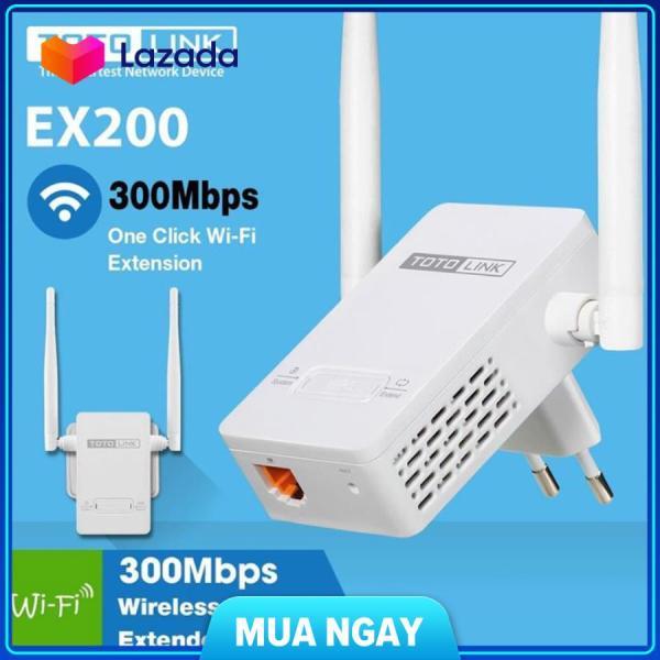 Bảng giá Totolink EX200 - Bộ Mở Rộng Sóng Wifi không dây hút wifi cực mạnh Phong Vũ