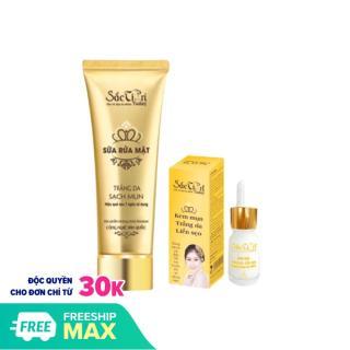 Serum Mụn và sữa rửa mặt sạch nhờn chống mụn - Sắc Tiên today (110ml) - Công ty Kim Ngân thumbnail