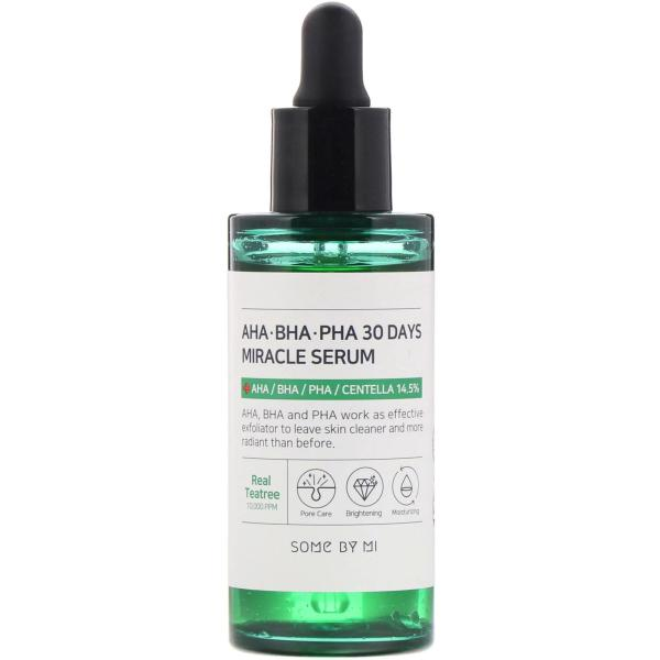 Tinh Chất Giảm Mụn Some By Mi AHA-BHA-PHA 30 Days Miracle Serum 50ml