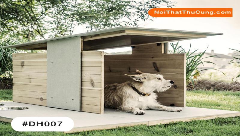 Nhà Gỗ Độc Đáo Cho Chó DH007