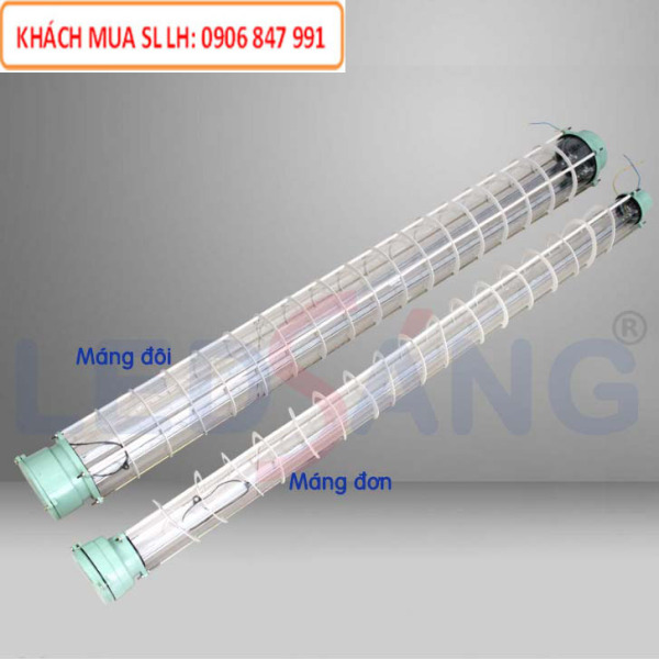 Máng đèn LED -  Máng chống cháy nổ 1m2 (đôi)  EX - C2 - 120