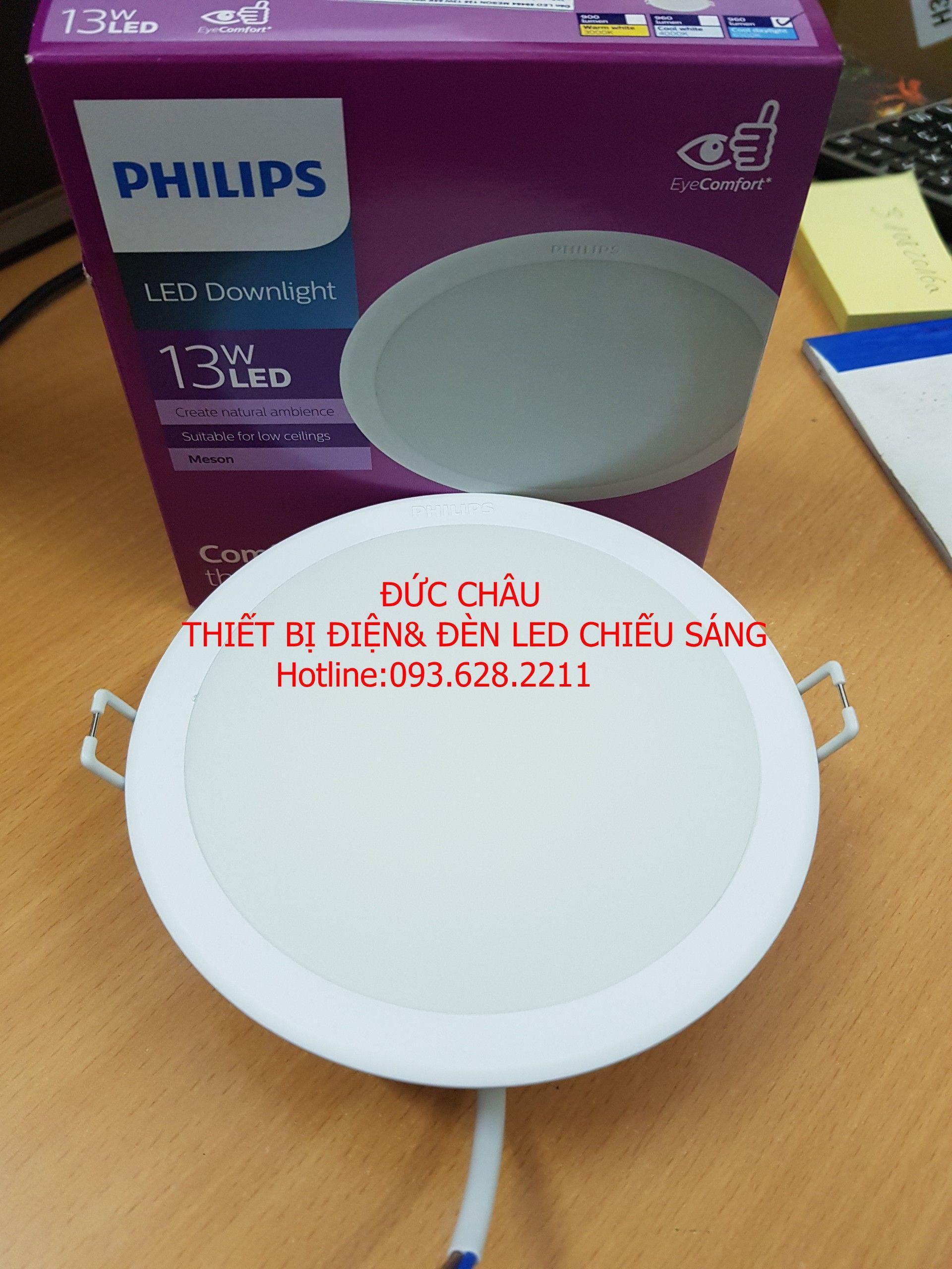 Mã Khuyến Mãi Đèn Led Philips 13w âm Trần