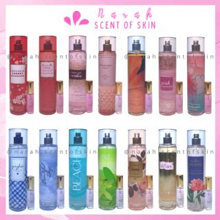 Xịt thơm body mist Bath and Body Works hàng Mỹ đủ mùi hương nước hoa & dưỡng ẩm da size 10ml thumbnail