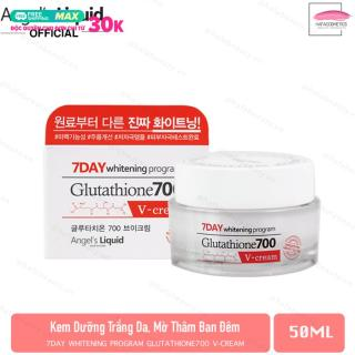 Kem Dưỡng Trắng Da, Mờ Thâm Nám Ban Đêm Angel s Liquid 7 Day Glutathione 700 V-Cream 50ml thumbnail