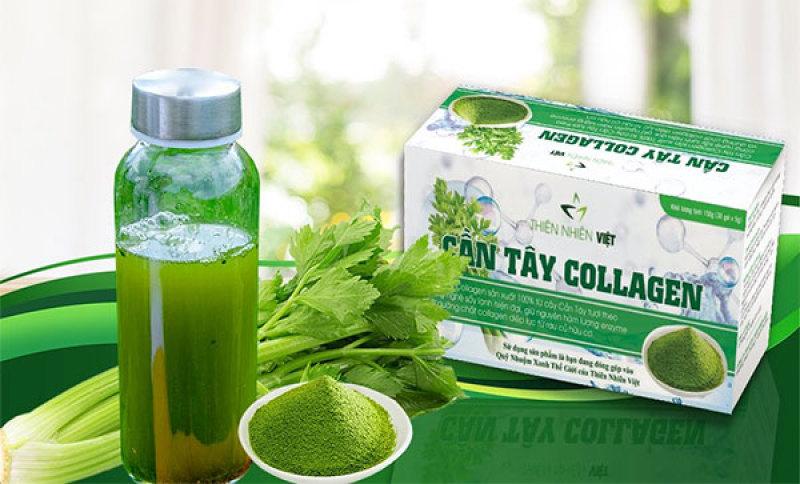 Bột Cần Tây Collagen Thiên NHiên Việt -  Hộp 30g nhập khẩu