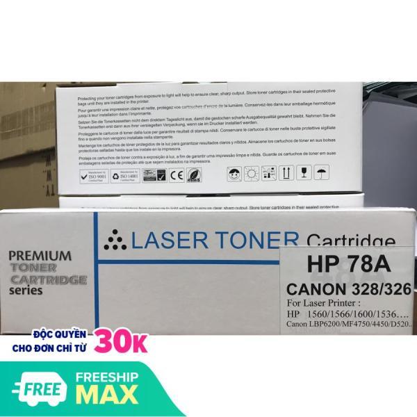 Bảng giá Hộp mực in HP 78A /Canon 328 / 326 siêu nét nhập khẩu mới 100% chất lượng cao Phong Vũ