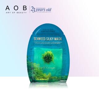 Mặt nạ rong biển ngăn ngừa lão hóa da và giảm sưng mụn 23 Years Old Seaweed Silky Mask 23g-HSD 08.2021 thumbnail