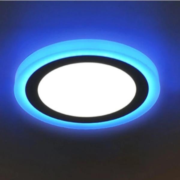 Đèn led ốp trần 24w tròn - 2 màu 3 chế độ