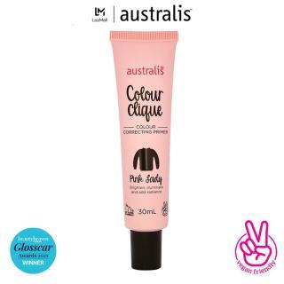 Kem Lót Hiệu Chỉnh Màu Da ( sáng da), Trắng Da Australis Colour Clique CC Primer(30ml)-Hàng Úc Chính Hãng thumbnail