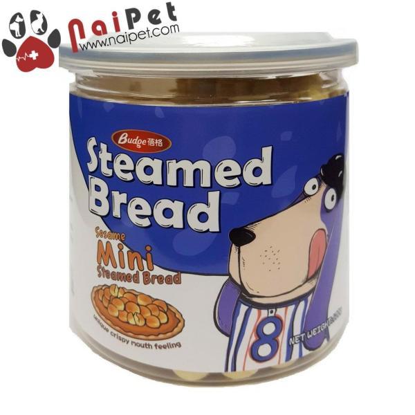 Đồ Ăn Vặt Bánh Thưởng Vị Sữa Cho Chó Steamed Bread 120g