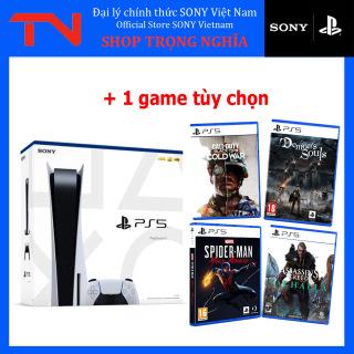 [Trả góp 0%]Máy PS5 Standard with Blue-ray Disc Edition + 1 game PS5 tùy chọn thumbnail