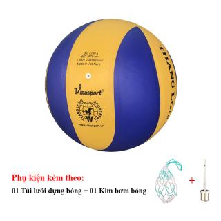 Bóng Chuyền Da Thăng Long 5030 Xoáy + Túi Lưới Đựng Bóng + Kim Bơm Bóng thumbnail