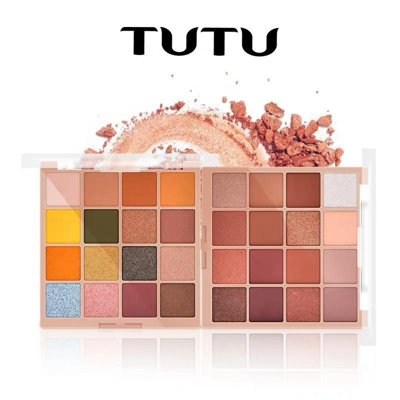 TUTU - Bảng mắt 16 màu KAQI COLOR tông đào