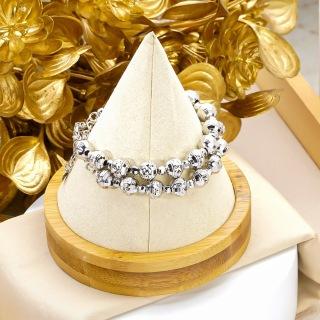 [Miễn phí ship]-Lắc tay nữ mạ vàng thật 18K JK Silver kiểu dáng khắc máy tinh xảo cao cấp giá rẻ U.vong248 - vòng tay siêu khuyến mãi thumbnail