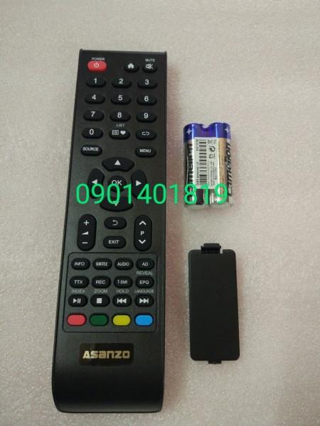 Bảng giá Điều khiển Tivi Asanzo  LCD nút màu dưới (hàng chính hãng mới 100%)