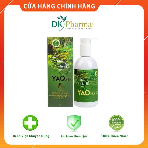 Sữa tắm gội thảo dược sau sinh, sạch thơm, thư giãn, giảm rụng tóc - Yaocare Mama Gel - Chai 250ml