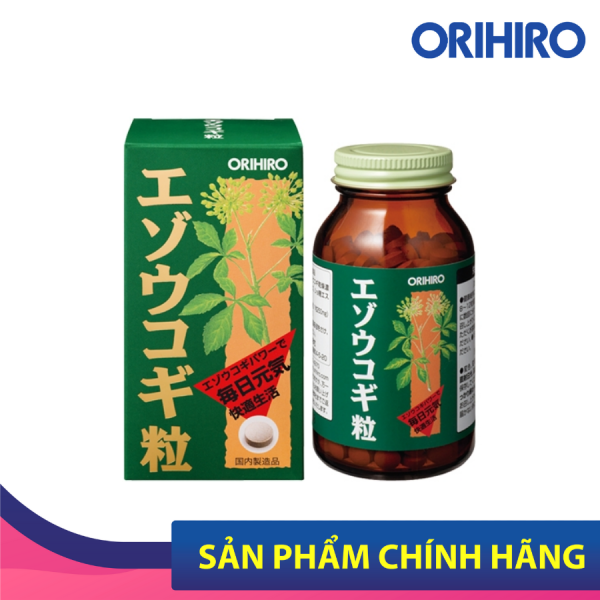 Viên uống tăng cường sinh lực Eleuthero Orihiro cao cấp