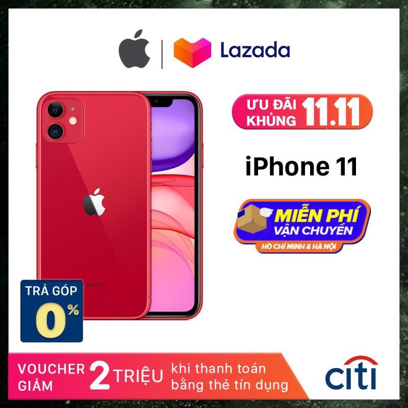 Điện thoại Apple iPhone 11 - Phân Phối Chính Hãng VN/A - Màn Hình Liquid Retina HD 6.1inch, Face ID, Chống nước, Chip A13, 2 Camera