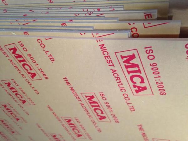 Mica trong suốt Dày 2mm nhiều kích thước 40x40,40x30,30x30,30x20,20x10,... (Mica Đài Loan)
