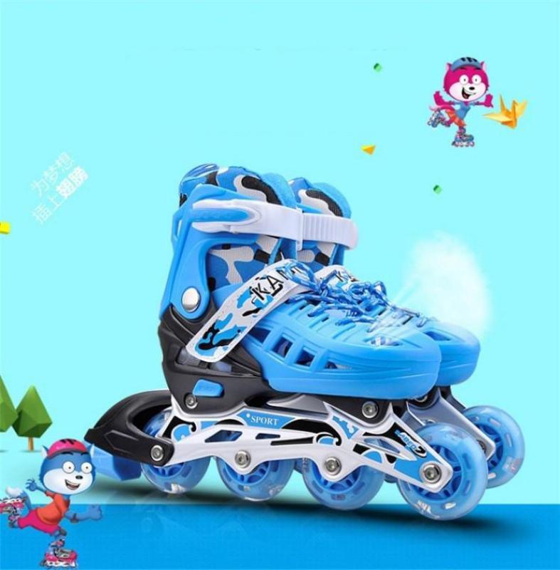 Phân phối Anh giay patin, Giay roller, Giay patin k6 - Giày Trượt Patin Cao Cấp Cấu Tạo Khung Xương Thép Chắc Chắn, An Toàn Cho Bé   - Mã BH 1
