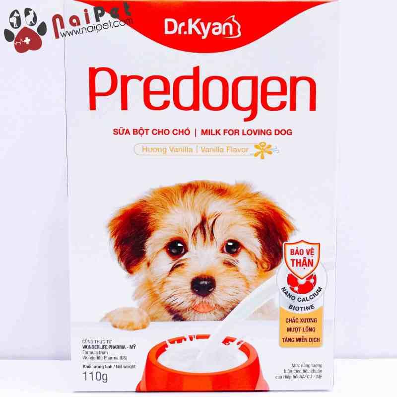 Sữa Bột Dinh Dưỡng Cho Chó Predogen Dr.Kyan Hộp 110g