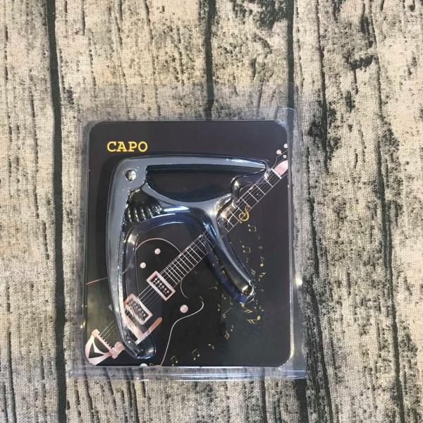 Capo guitar cao cấp(có móc rút chốt hỗ trợ thay dây đàn)