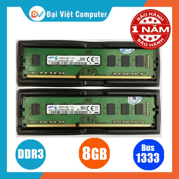 Bảng giá Ram máy tính 8GB DDR3 bus 1600 PC3 12800 ( nhiều hãng)samsung/hynix/kingston/micron, crucial/navia - PCR3 8GB Phong Vũ