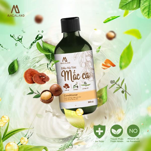 Dầu Xả tóc dầu Mắc Ca Macadamia MACALAND giúp tóc mượt và dày hơn cao cấp