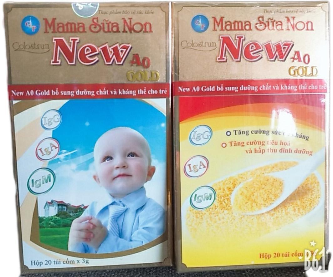 SỮA NON MAMA NEW A0 GOLD 20 TÚI X 3G...