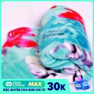 Chăn mền vải cotton nhung siêu mềm, không rụng lông, không sờn màu, an toàn (1,7m x 2.1m) thumbnail