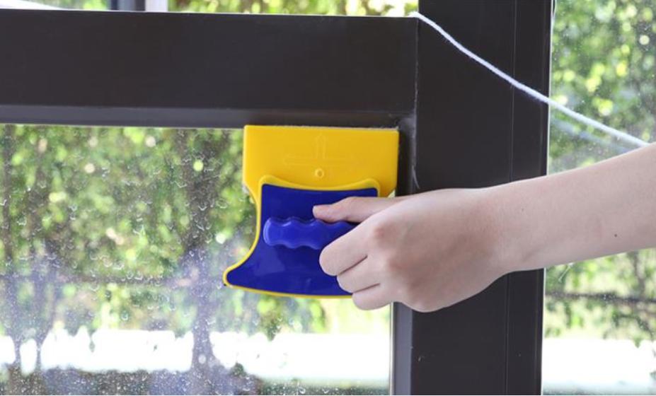 Dụng cụ lau kính, cây lau kính, Dụng cụ lau cửa kính Double Sided glass Cleaner, chất lượng Cao, thiết kế chuyên dụng Lau Kính, bảo hành uy tín 1 đổi 1 trên toàn quốc