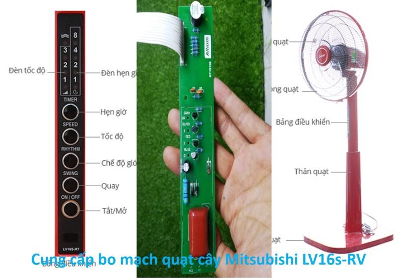 Mạch điều khiển quạt cây Mitsubishi LV16S-RV