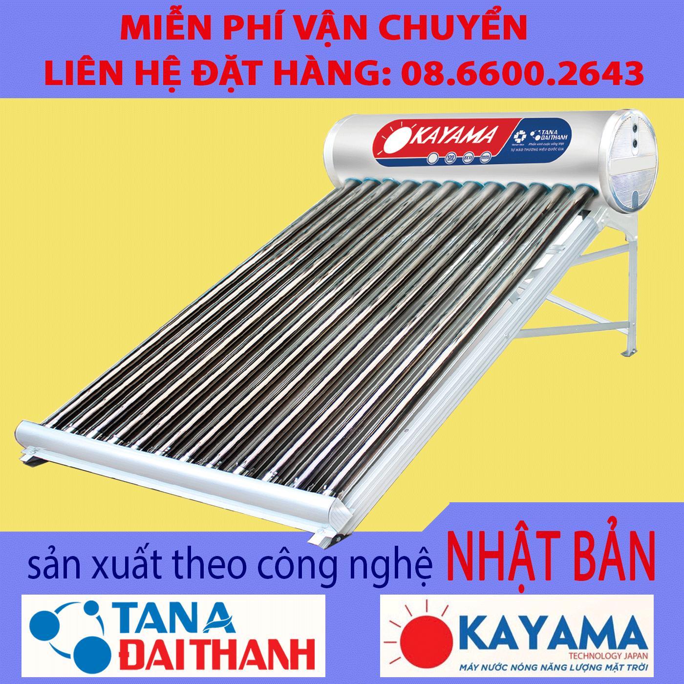 Tân Á - Đại Thành 215 lít - Máy nước nóng NLMT Okayama 58-21