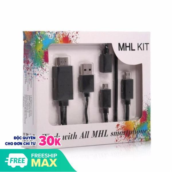 Bảng giá Cáp HDMI kết nối điện thoại Android với Tivi FULL HD 1080P loại tốt không kén máy Cáp MHL kết nối từ smartphone android ra cổng HDMI cho tivi, máy chiếu, kit mhl, cáp hdmi cho androi, cáp hdmi cho điện thoại samsung, oppo, nokia, sony...
