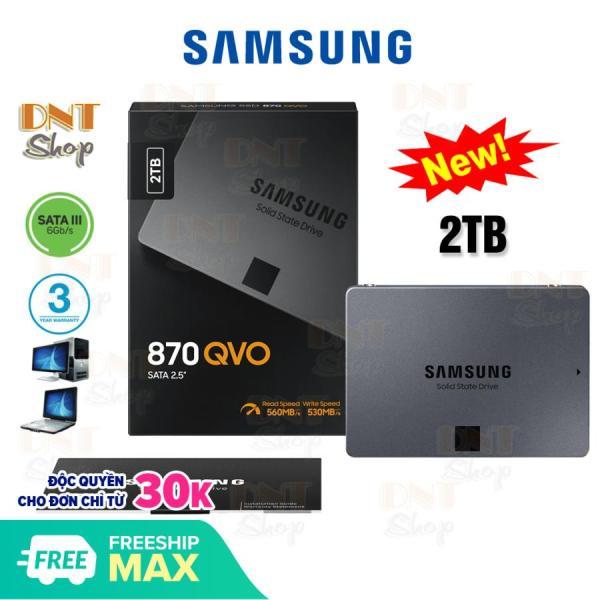 Bảng giá Ổ cứng SSD Samsung 870 QVO 2TB 2.5-Inch SATA III (MZ-77Q2T0) Phong Vũ