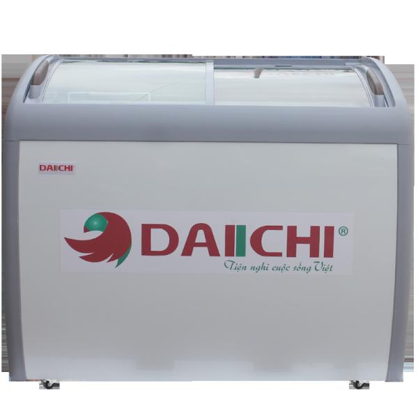 Tủ Quầy, Tủ Kem Mặt Kính Cong Daiichi CFS 355- Hàng Chính Hẵng