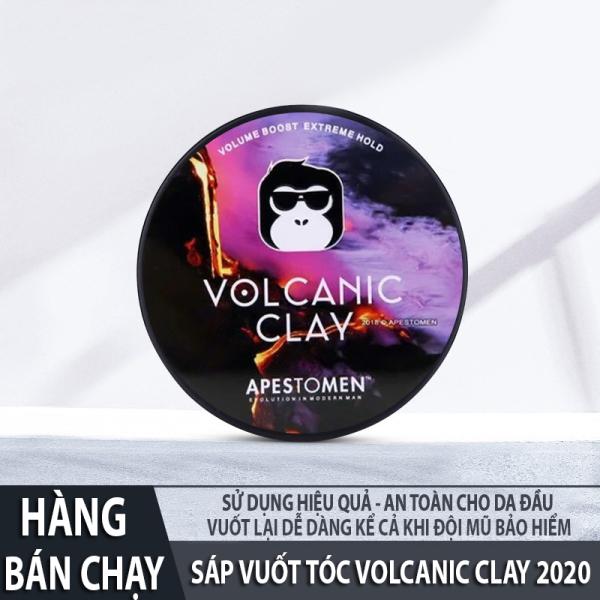Wax Tóc, Sáp Vuốt Tóc Nam Volcanic Clay Apestomen 2020, Sáp Vuốt Tóc Nam - Giúp tóc giữ nếp, chất sáp mềm dễ vuốt, hương thơm dễ chịu, dùng cho mọi loại tóc khó vào nếp